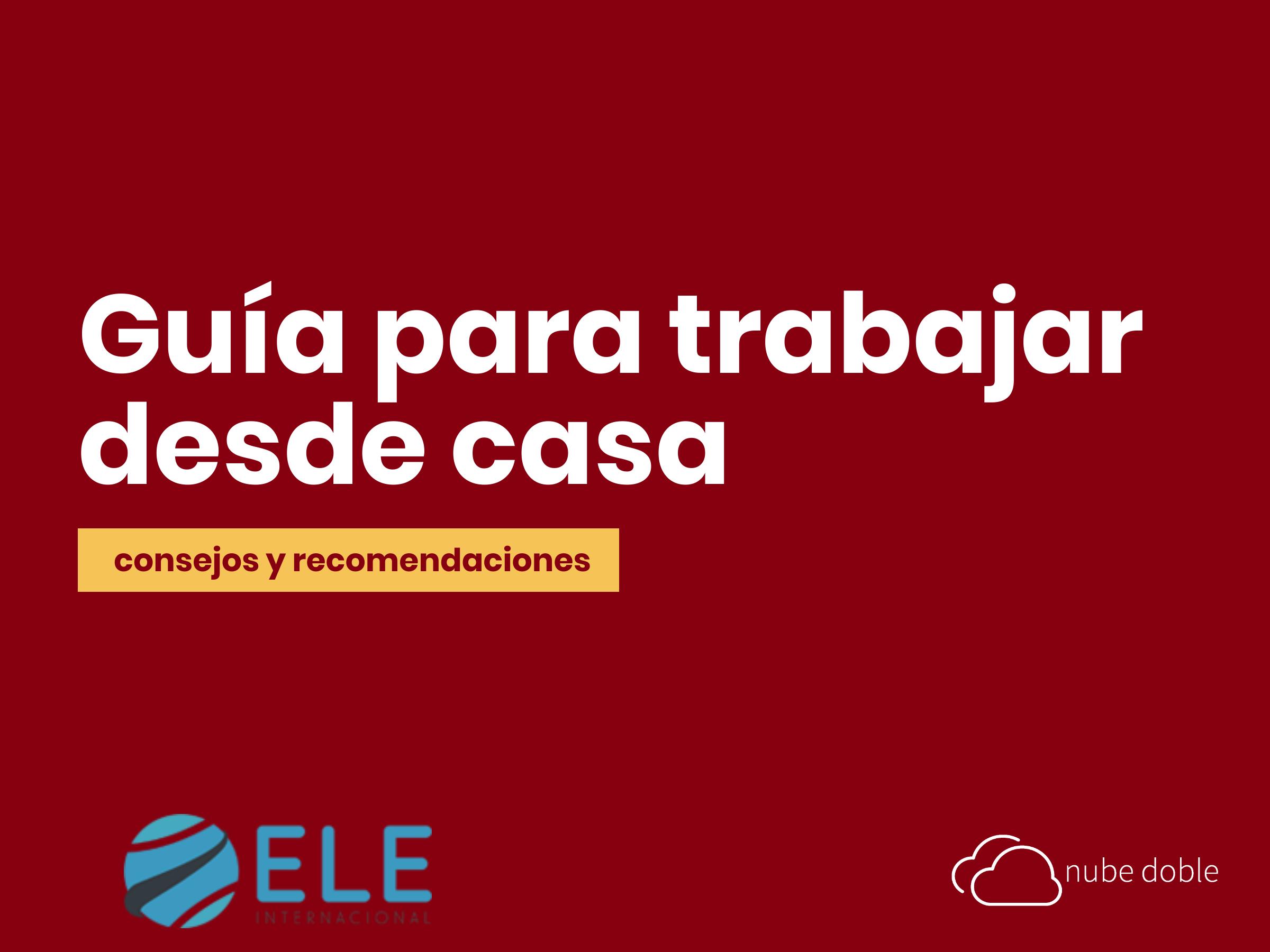 Guía para trabajar desde casa dando clases de español online