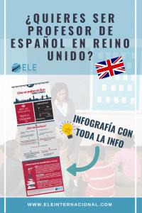 Ser profesor de español en inglaterra Auxiliares de conversación Trabajar en Reino Unido #spanishteacher #teachmorespanish