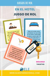 El hotel ELE. Un juego de rol ideal para tus clases de español. #spanishteacher #juegos #rol