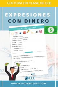Expresiones con dinero para clases de ELE. #spanishteacher #claseele
