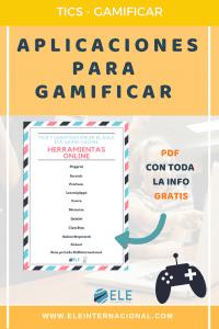 Gamificación en el aula ELE. Aplicaciones online. Ideas para clase de idiomas. #profedeele #spanishteacher