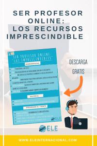 Herramientas para trabajar como profe de español en linea. Trabajar como profesor online. #profedeele #spanishteacher
