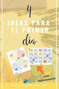 Ideas para el primer dia de clase