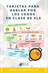 Actividades para mejorar la expresión oral en clase de español. Juegos para la expresión oral. #profedeele #spanishteacher