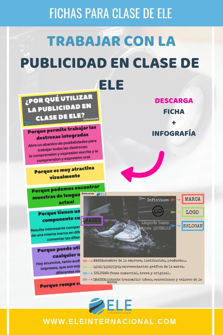 Trabajar la publicidad y televisión en clase de español. Ideas para trabajar en clase de ELE nivel intermedio. #profedeele