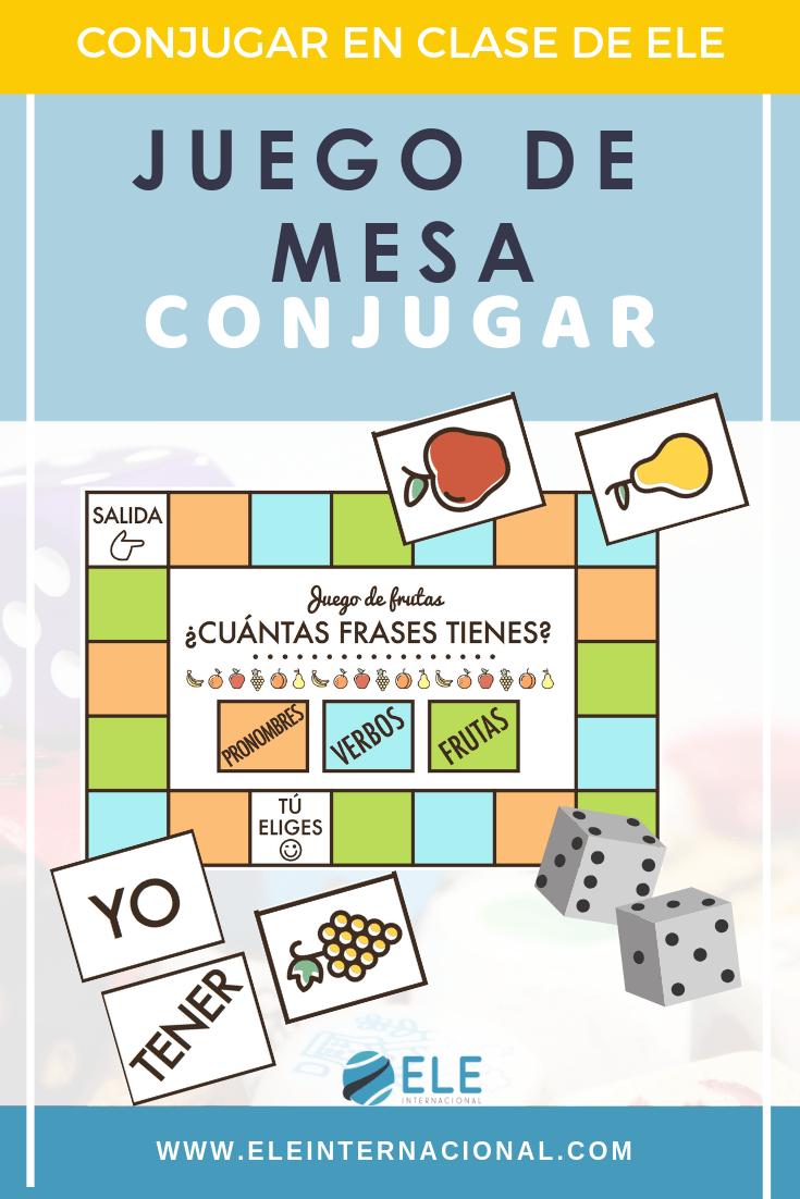 Juego de mesa para conjugar en clase de español. #profedeele #spanishteacher #teachmorespanish