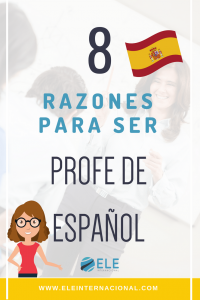 Trabajar como profesor de español en el extranjero. Ser profesor de ELE. Trabajar en el extranjero