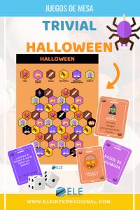 Trivial de Halloween para tus clases de español. #spanishteacher #juegos