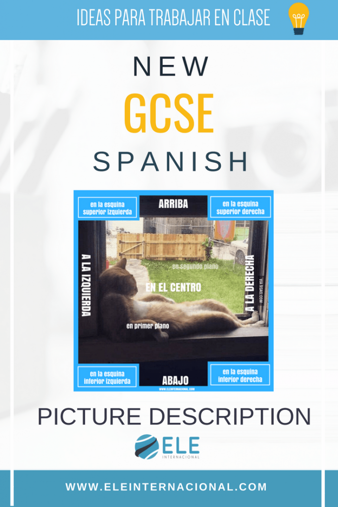 Ideas para trabajar descripción de imágenes en clase de ELE. New GCSE Spanish picture description. #profedeELE #SpaishGCSE