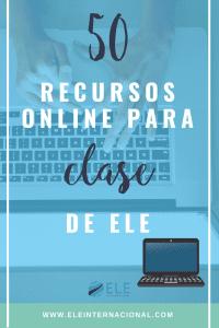 Recursos para tu clases online. Herramientas online para clase de idiomas.