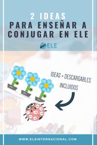 Spanish MFL ideas grammar Ideas actividades conjugar clase de español #spanishteacher #profedeele #teachmorespanish