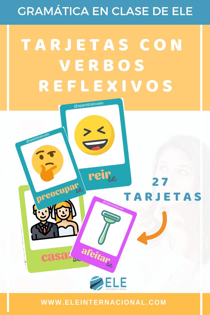 Verbos reflexivos EN CLASE DE ESPañol. Actividades para A1. Spanish grammar. Juegos para trabajar gramática. #spanishlesson