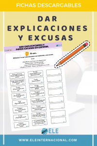 Dar explicaciones y excusas en clase de español #profedeele #spanishteacher