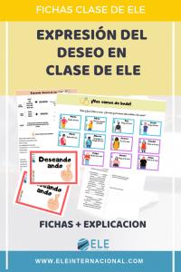 Actividades parra mejorar la compresión oral en clase de ELE. Actividades para expresar deseo en español. #profedeele #spanishlesson #teachmoreSpanish