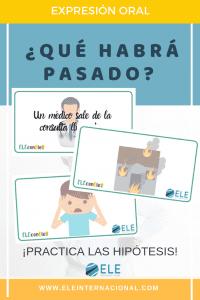 Las hipótesis. Actividad oral para practicar la gramática en clase de ELE. Aprender a hacer preguntas. #profedeELE #Spanishteacher #gramática #descargablesgratuitos