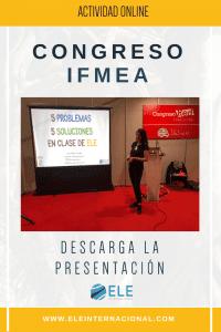 Ideas para tus clases. Seminario AULA IFEMA. #profedeELE #Spanishteacher