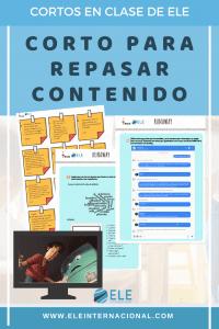 Actividad para trabajar cortos en clase de ELE. Cortos en clase de español.