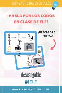 Actividades para mejorar la expresión oral en clase de español. Spanish lesson ideas. Juegos expresión oral. #profedeele #spanishteacher