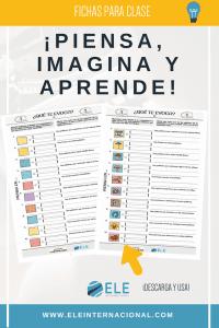 Fichas para trabajar en clase de español. Ideas para clase de ELE