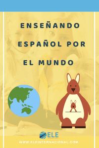 Trabajar como profesor de español en Australia. Ser profesor de español en el extranjero. #viajarytrabajar