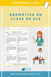Tiempos verbales en futuro. Para clase de ELE. #spanishteacher #spanishlesson Gramática