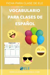 Planear una fiesta en clase de ELE para conocer las destrezas de los alumnos. Una ficha multinivel útil para practicar español. #activity #spanishteacher