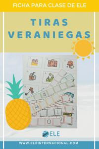Vocabulario del verano. Actividades para trabajar en clase de español. #profedeele #spanishteacher
