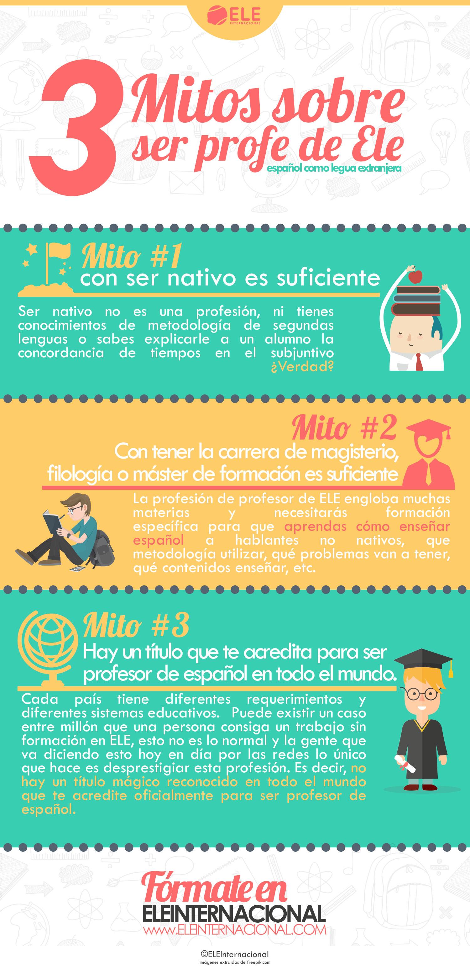 Ser profesor de español en el extranjero. Profe de ELE #Spanishteacher trabajar profesor de español