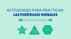 Actividades gramática clase de ELE perífrasis verbales #teachmorespanish #spanishteacher