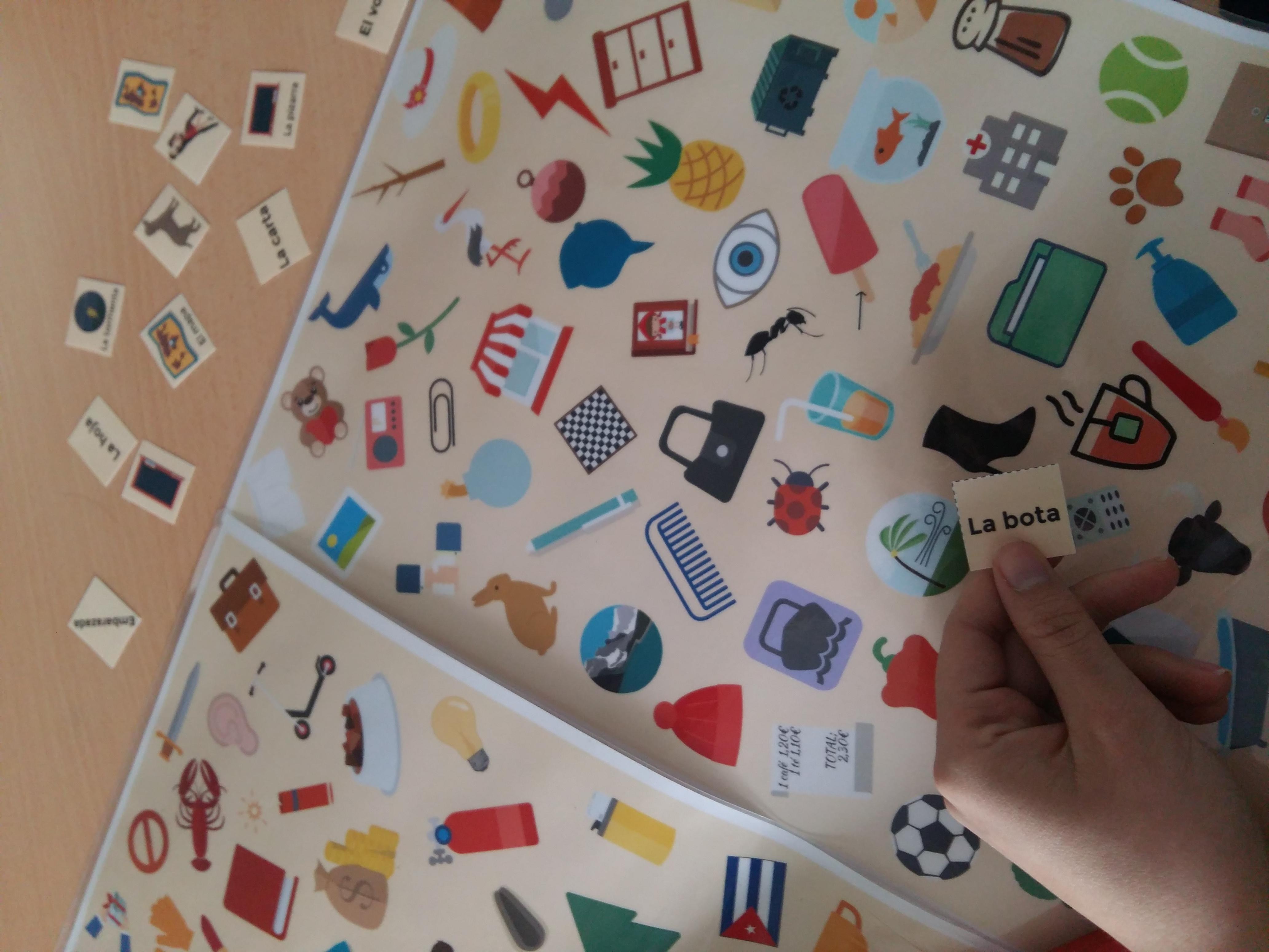 Ideas para jugar en clase de ELE. Ideas para trabajar con vocabulario en clase de idiomas #teachmorespanish