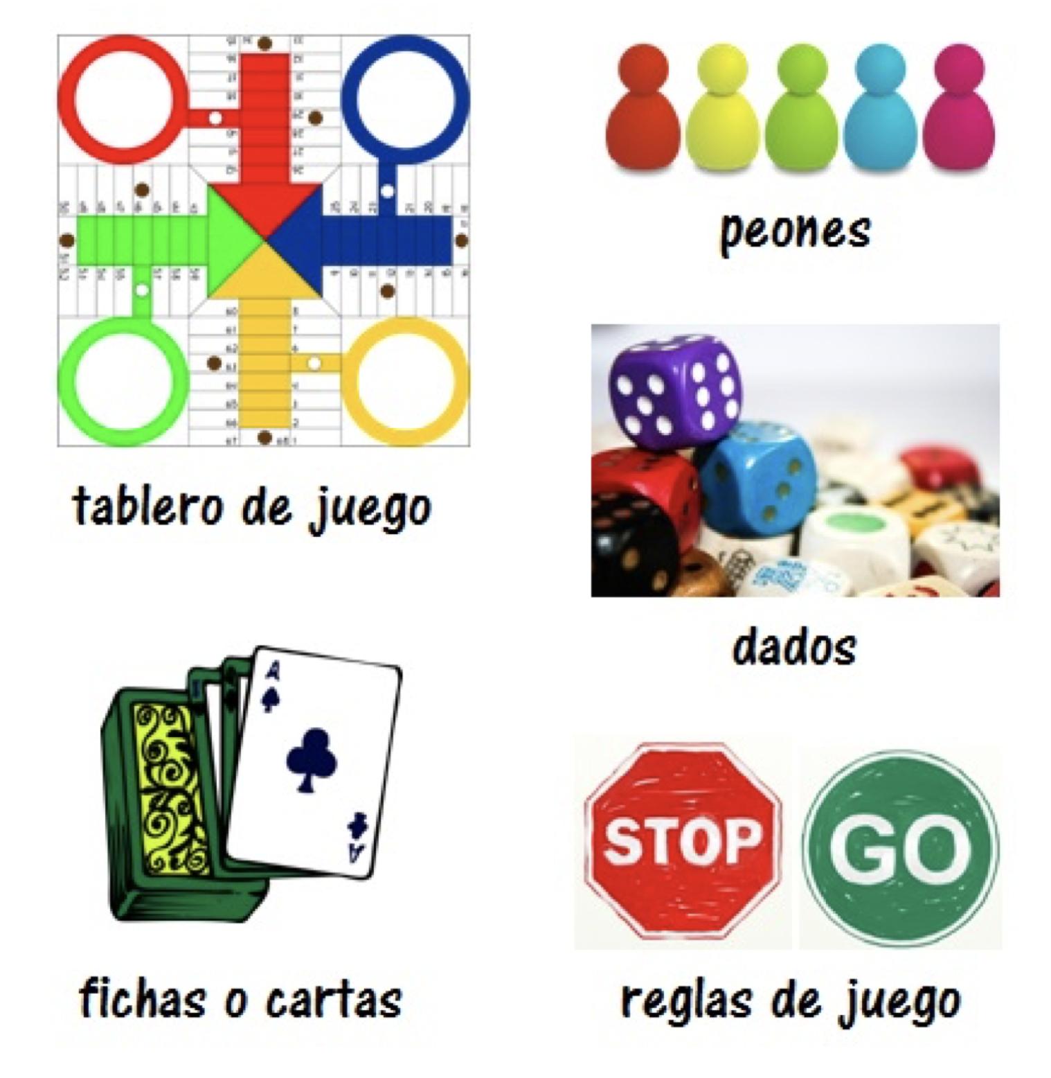 Juegos de mesa para clase de español. Diseñar tus propios materiales para clase. #spanishteacher #profedeele