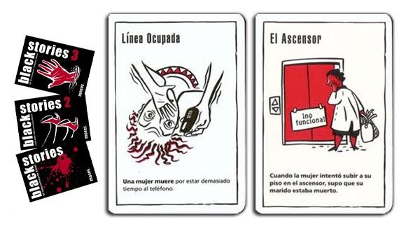 BLACK STORIES Juegos de mesa para clase. Juegos de mesa en clase de español.