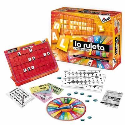 LA RULETA DE LA SUERTE Juegos de mesa para clase. Juegos de mesa en clase de español.