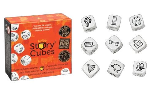 STORY CUBES Juegos de mesa para clase. Juegos de mesa en clase de español.