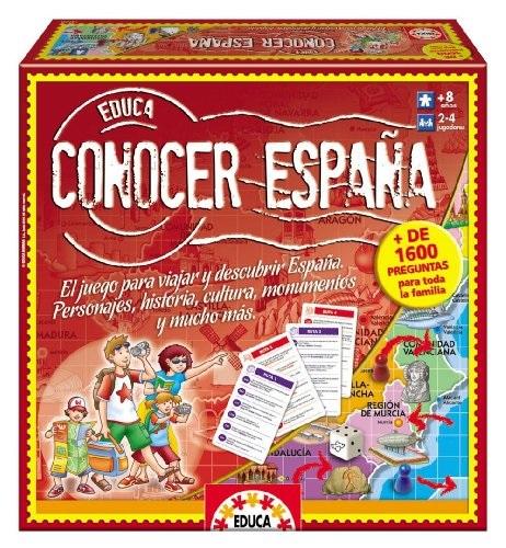 CONOCER ESPAÑA Gamificar en clase de idiomas. Juegos de mesa Clase de ELE.
