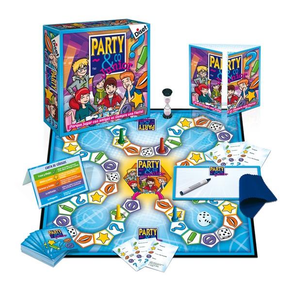 PARTY & CO Gamificar en clase de idiomas. Juegos de mesa Clase de ELE.