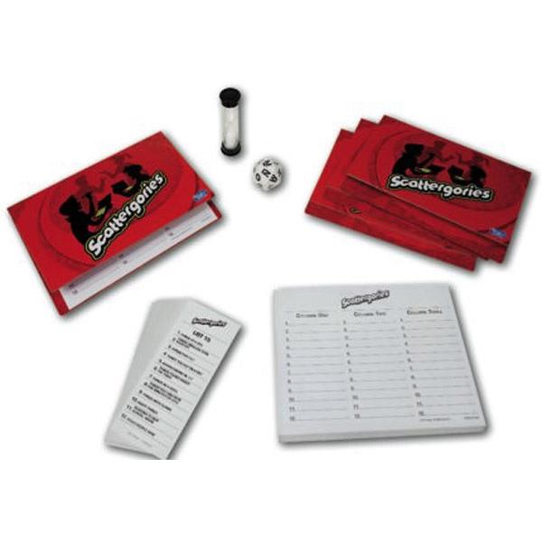 SCATTERGORIES Gamificar en clase de idiomas. Juegos de mesa