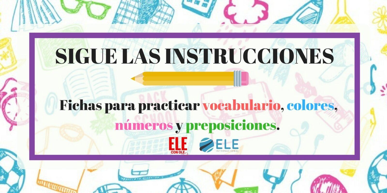 ACTIVIDAD PARA TRABAJAR PREPOSICIONES Y VOCABULARIO EN CLASE DE ELE Ideas juegos clase de ELE. Fichas descargables.