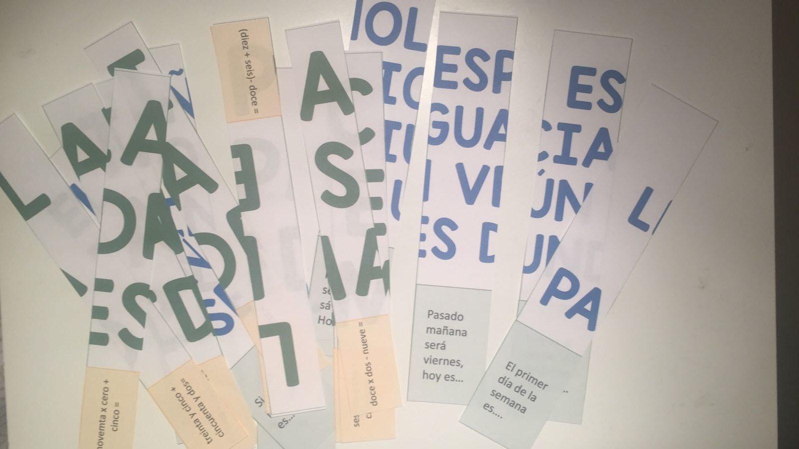 Crea tus propios puzzles para trabajar la comprensión lectora en clase de ELE. #recursos #ideasparaclase