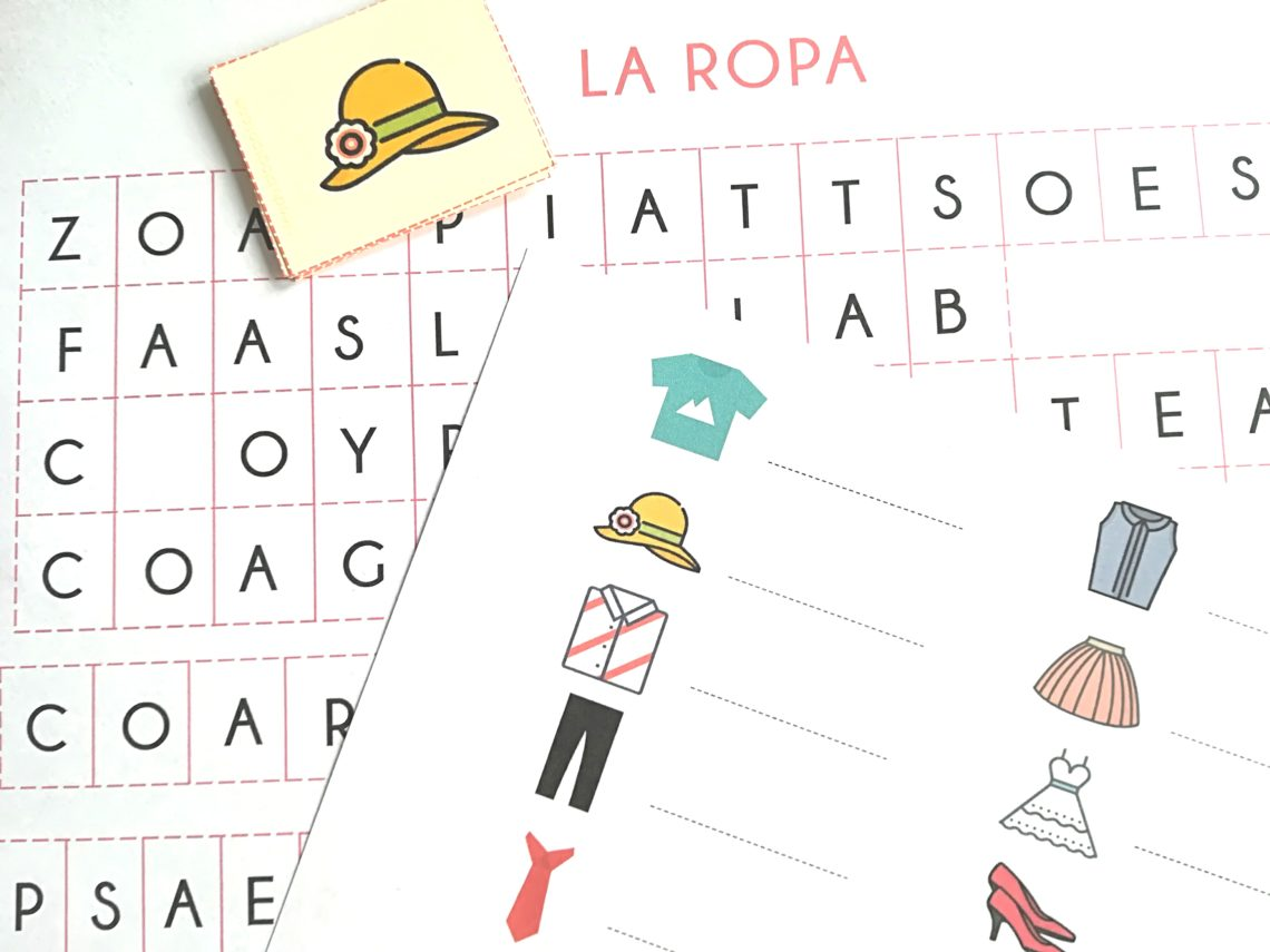 Juego plantillas acordeón para trabajar con vocabulario. Ideas para mejorar el vocabulario. #spanishteacher #profedeele