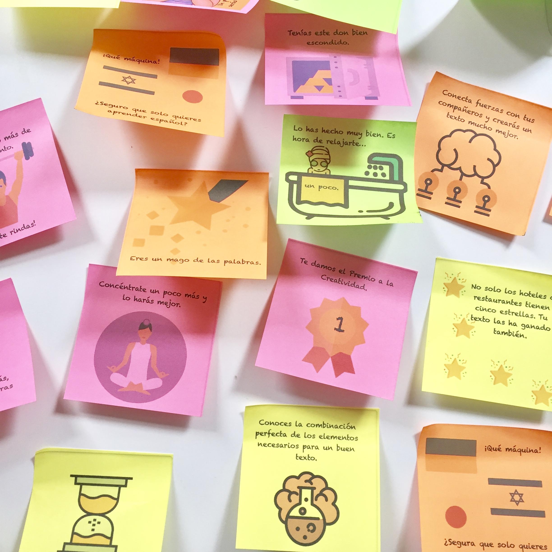 Ideas para evaluación en clase. Actividades para trabajar retroalimentación en el aula. #profedeele #spanishteacher #teachspanish #profesores