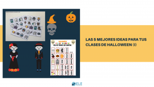 Actividades para trabajar halloween en clase. Actividades para trabajar el día de los muertos. #Profedeele #spanishteacher #teachspanish