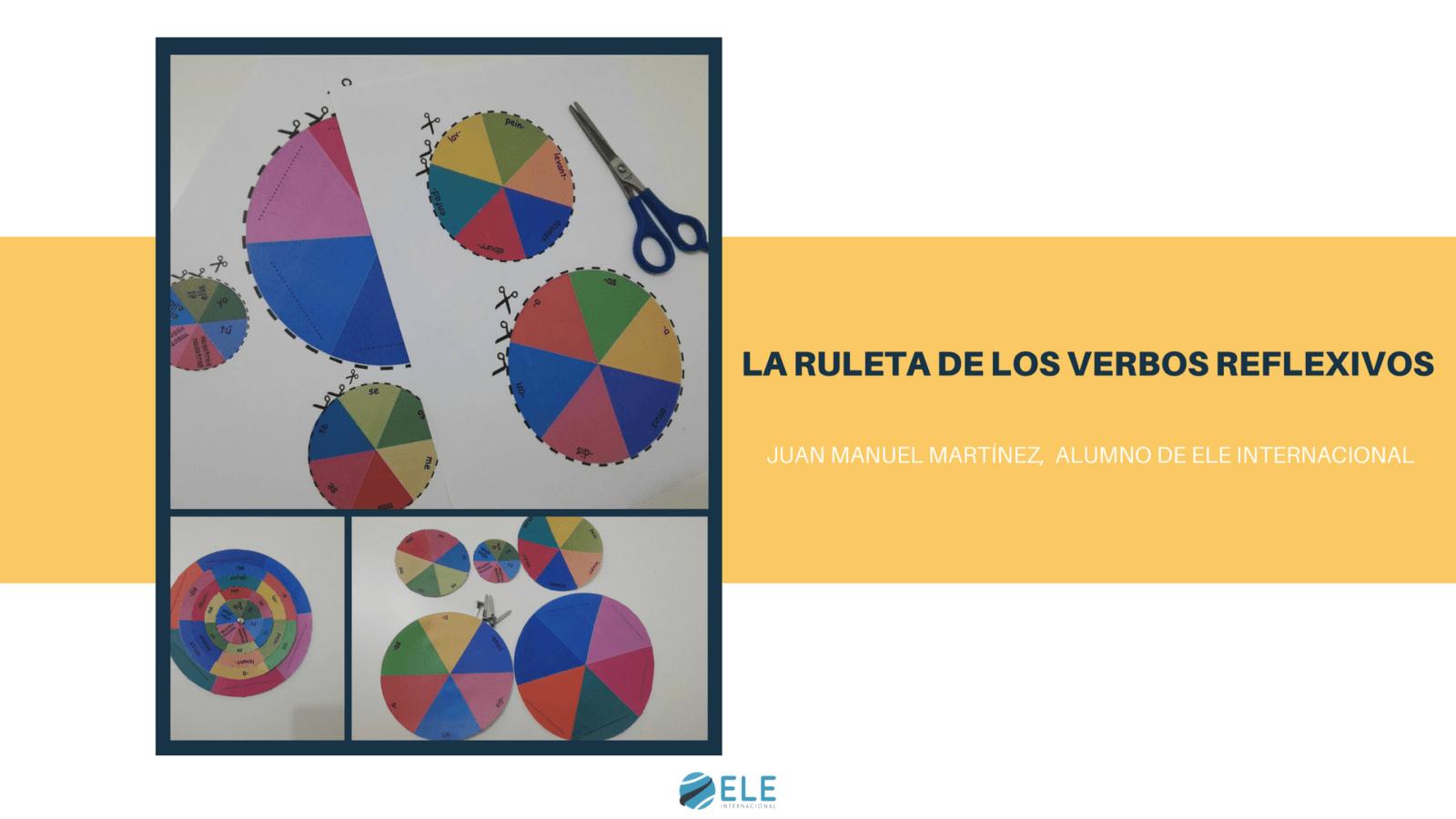 Ruleta para tratar los verbos reflexivos en clase de ELE. #spanishteacher