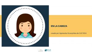 Ficha para trabajar vocabulario nivel A1 para clase de español. Partes del cuerpo en clase de español. #spanishteacher #profedeele #teachSpanish