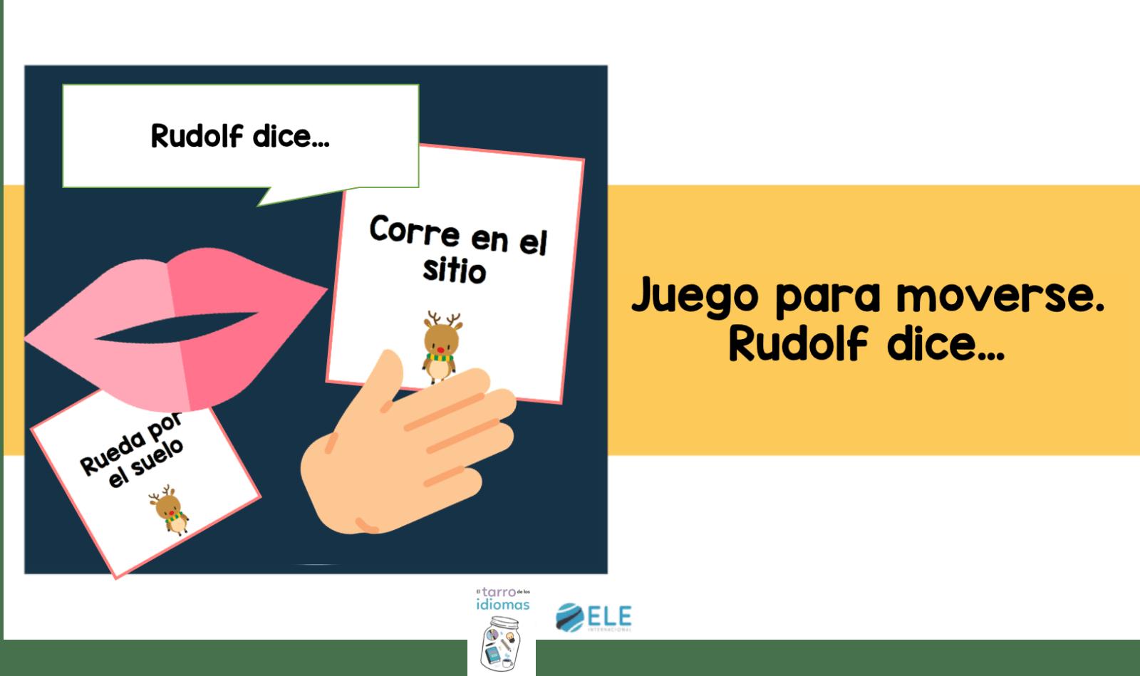 El juego de Rudolf es aprendizaje y diversión asegurada en tus clases de ELE. #activity #spanishteacher