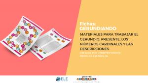 el gerundio en clase de ELE. Juegos para practicar gramática en clase de español. #spanishlesson