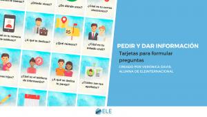información en clases de ELE