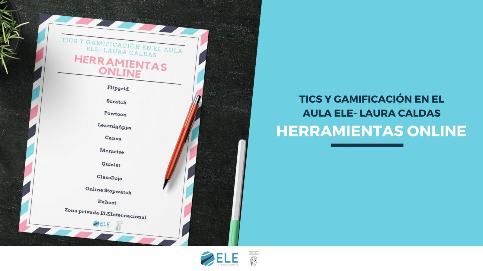 Gamificación en el aula ELE. Herramientas online para crear dinámicas de juego en clase de ELE. #juegos #gamificación #herramientasonline