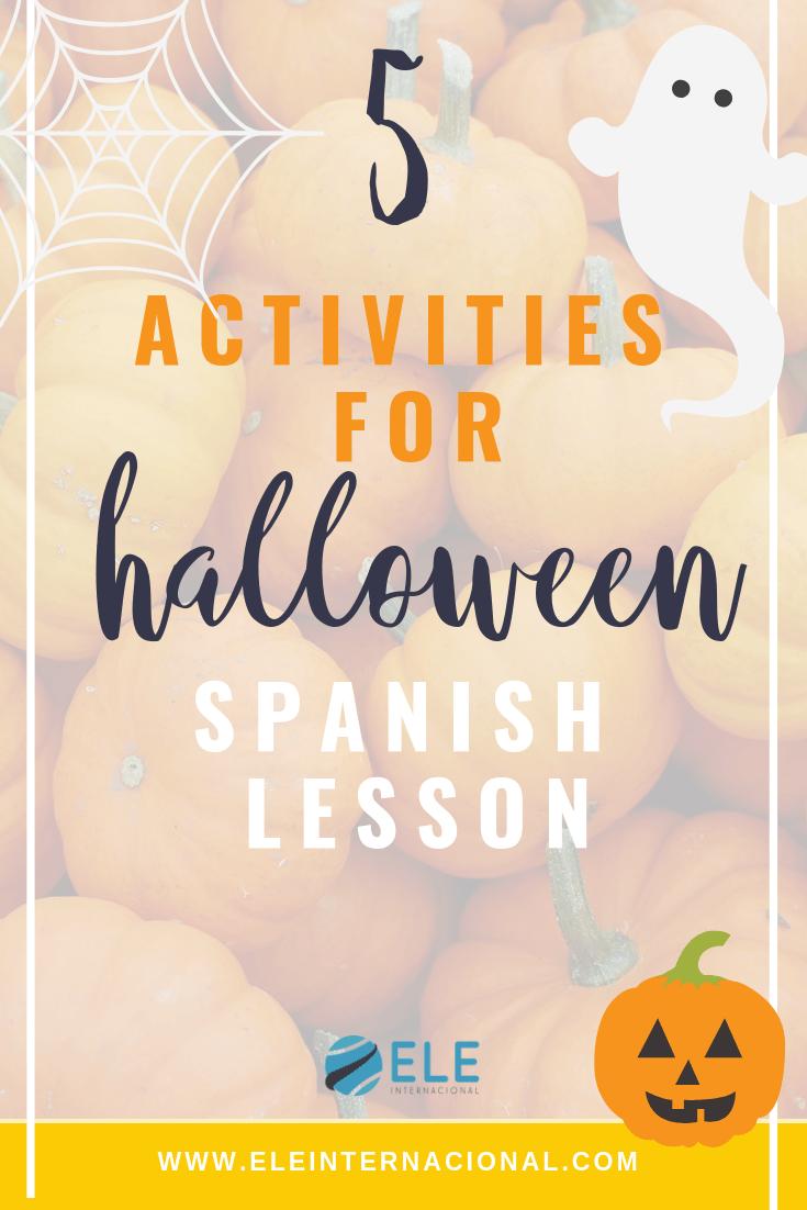 Recopilación de los mejores juegos de Halloween para tus clases de ELE. #spanishteacher #claseele