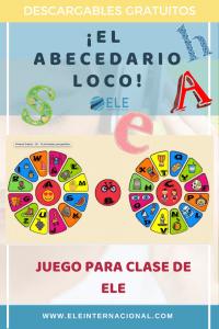 Ideas para aprender el abecedario Juegos clase de ELE #profedeele #teachmorespanish